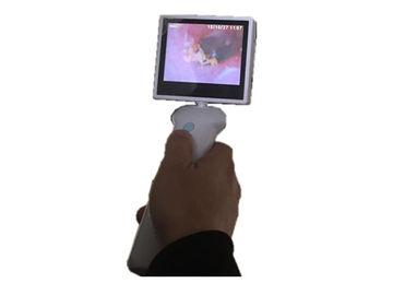 3,5 ίντσας LCD ΩΤΟΡΙΝΟΛΑΡΥΓΓΟΛΟΓΙΚΉ κάμερα ωτοσκοπίων οθόνης ψηφιακή τηλεοπτική για το λαιμό μύτης αυτιών με την μπαταρία λίθιου
